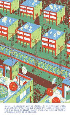 La descente - Benjamin Courtault #illustration