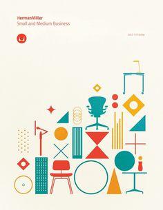 HermanMiller poster by Gavin Potenza