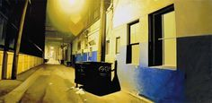 Realistic Urban Paintings by Graeme Berglun_9 #urban #realistic #city #painting #art