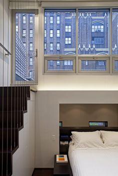 Manhattan MicroLoft – Radical Transformation of a Tiny Apartment