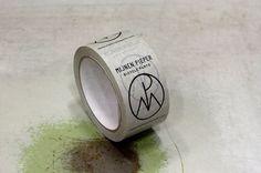 Urform - Project: Mijnen - Pieper #logo #tape #identity