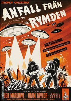 ANFALL FRÃ…N RYMDEN filmaffischer posters - Film posters och affischer seriesam.com #battle #aliens #poster