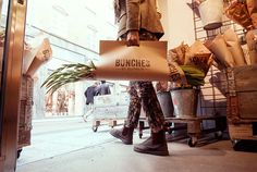 Bunches by Blomrum | Packaging on Behance