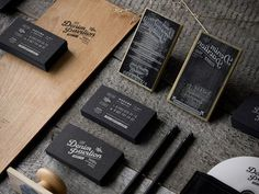 Graphic design inspiration #business #cards #branding