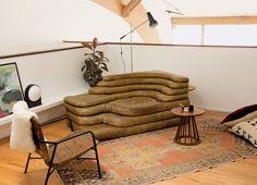 De Sede vintage Terrazza sofa by Ubald Klug