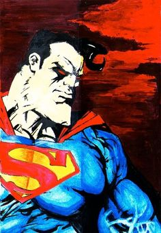 sprhrs003.jpg 640×922 pixels #steel #of #american #hero #illustration #usa #man #superman