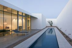Architecture Photography: Barrio Historico House / HK Associates Inc - Barrio Historico House / HK Associates Inc (152368) – ArchDaily #residential #house #barrio #pool #lap #architecture #historico
