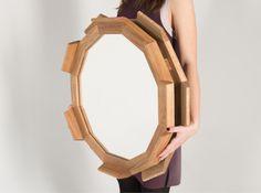 Mirror KUPUS 6 Fly Massive Millworks #fly-massive-millworks #wood #interior #design #artisan #furniture #decor #woodwork #woodworking #wood