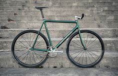 Kim Heikkinen Green Cannondale Track #cannondale #bike #track #bicycle