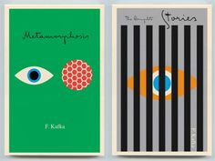 Fonts In Use – Kafka Editions from Schocken #minimalist #geometric #typography