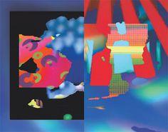 A colorful zine Laura Knoops   Designer & VJ #illustration #vj