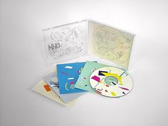 CD PACKAGING on the Behance Network #packaging #geometric #transparent #colors #music #game