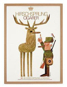 Hirschsprung Poster A3 #illustration #poster