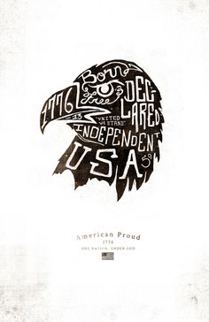 American Proud on Behance, Jeremy Teff #illustration #drawn #hand #typography