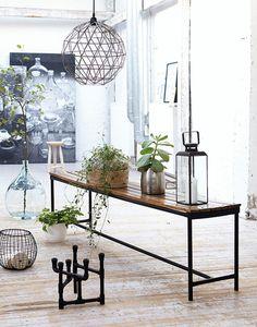 House Doctor Station Bench | Artilleriet | Inredning Göteborg #interior #artilleriet #design #decor #home #shops #hipshops
