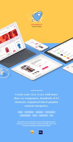 Shopmate – UI Kit for the Shop