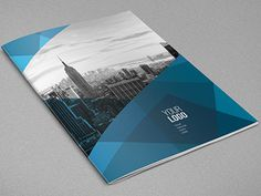 Abstract Architecture Brochure You can download it here: http://graphicriver.net/item/abstract-architecture-vertical-brochure/9686326?ref=a #abstract #pattern #print #design #template #blue #download #brochure