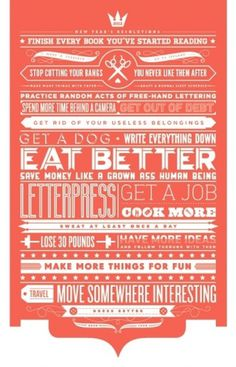 inspiration generator / by teresa wozniak #teresa #typography #wozniak #years #poster #type #new