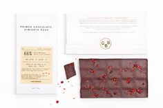 CASA BOSQUES CHOCOLATES on Behance #packaging #white #chocolate