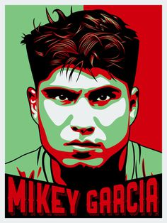 #mikeygarcia #graphicdesign #boxer #illustration #poster