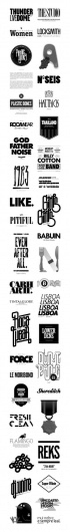 6ºRound on Typography Served #type #illustration #logo