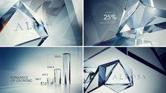 Alrosa | Serkin Andrew #frame #diamond #storyboard #style