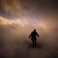 by johann Smari #silhouette #smoke #dream