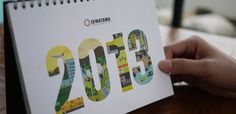 Sewatama Calendar & Planner 2013 #illustration #typography