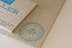 Reuben Miller business card #typography #logo #identity #business card #letterpress #texture