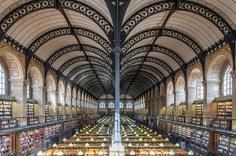 Saint Genevieve Library, Paris, France