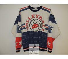 Nike Volleyball Vintage Crewneck Sweatshirt #nike #vintage #crewneck