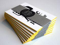 Bamsterdam expo - stack Bij de Vleet #print #cards #letterpress