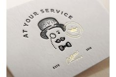 Joe White (part 2) #stationary #card #letterpress #business