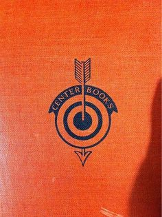 FFFFOUND! | Nice logo find at the used bookstore yesterday. | All Work No Sleep #center #orange #book #centerbooks #cover #target #arrow #logo