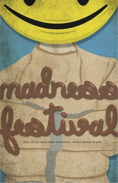 Madness Festival on the Behance Network #festival #event #design #graphic #madness #poster