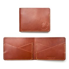 CROSS POCKET WALLET (BROWN LEATHER)