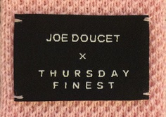 Joe Doucet x Thursday Finest 3D Knitted Tie Collection