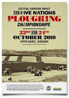 Plough Poster – I dig it! | KVGD Blog #poster #typography