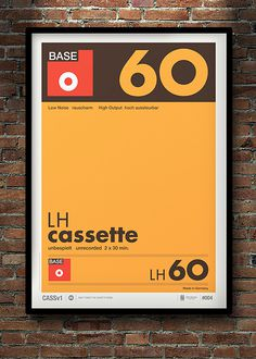 Don't Forget the Cassette: Posters by Neil Stevens   Inspiration Grid   Design Inspiration