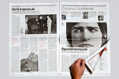 CCRZ - elenco dei progetti #print #design #newspaper #editorial