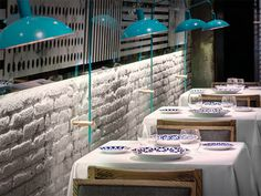 Petit Comite restaurant Lagranja Design #design #architecture #restaurant