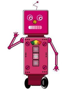 Illustration Project on Behance #robots