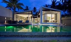 3 Bedroom Beachfront Luxury Villa with Pool, Bang Po, Koh Samui