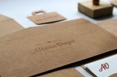 Altuna Viajes on the Behance Network #brand #logo #print #identity