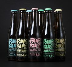 Brewery #brewery #beer #branding #packaging #pink #design #graphic #snask #identity #typography