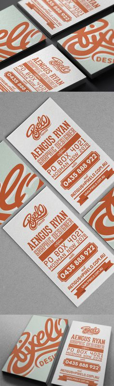 Pixelo Corporate identity // Branding #business #branding #design #retro #orange #logo #cards