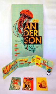 Ciclo de Cine: Wes andersonhttp://www.behance.net/gallery/Ciclo-de-Cine-Wes-anderson/6118733 #wes #anderson