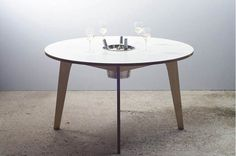 The Dine Ice Bucket Table Design by Miguel Mestre #interior #design #decor #home #furniture #architecture