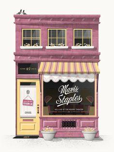 mavis_staples_big.jpg 1,200×1,600 pixels #illustration #poster