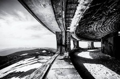 Black and White Photographs of Abandoned Places by Valerie Leroy